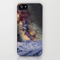 Sagitario, Scorpio and the star Antares over the hight mountains iPhone Case by Guido Montañés | Society6