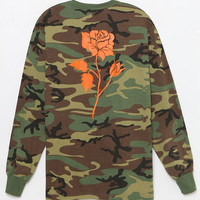HUF Ambush Pack Camo Rose Long Sleeve T-Shirt at PacSun.com