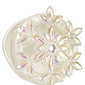 Bath & Body Works Scentportable Car Visor Clip Holder Jewel Snowflake