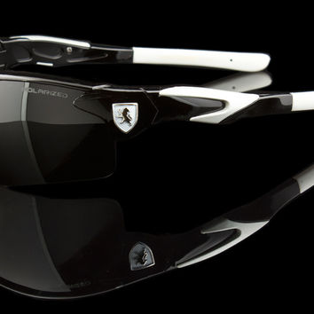 "Polarized Ultimate Sport Wraparound Sunglasses ""Yeti-POL"""