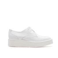 PLATFORM BLUCHER - Flats - Shoes - Woman - ZARA United States