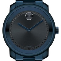 Men's Movado 'Bold' Bracelet Watch, 44mm