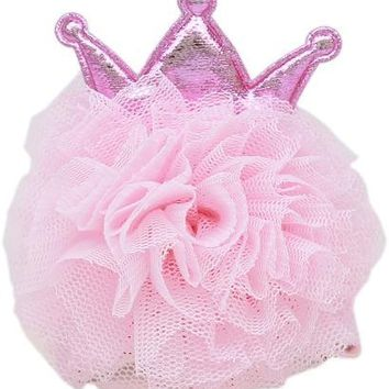 Princess Puff Clip-on Light Pink