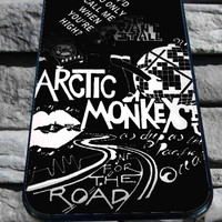 Arctic Monkeys Lyrics Cover for iPhone 4/4s/5/5S/5C/6, Samsung S3/S4/S5 Unique Case *95*