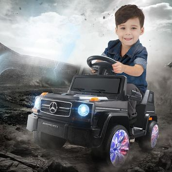 Fengda Electric Car for Kids Ride on Four-wheel Swing Baby Carriage with Baby Remote Control SUV Electric Car for Kids Toys Boys