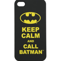 DC Comics Batman Keep Calm iPhone 4/4S Case
