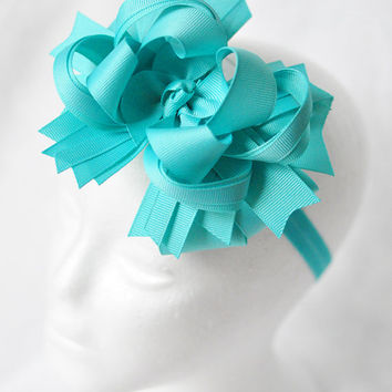 Custom color big bow headband for girls, Big baby headband bow, Bowband for toddlers, Girls headband, Baby headband, Boutique hair bow