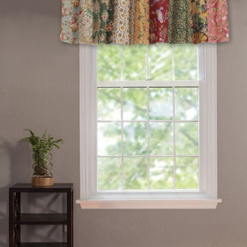 Greenland Home Fashions Claremont Collection Antique Chic Multi Color Valance Window hi