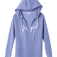 Oversized V-neck Hoodie - Fleece - Victoria's Secret