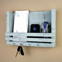 Shabby Chic Key Holder, Bathroom or Kitchen Organizer
