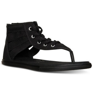 0e4bdf2a88ed Converse Women s Chuck Taylor Gladiator Thong Sandals from Finish Line