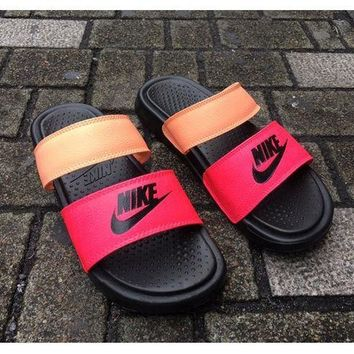 DCCKR2 NIKE classic female fashion brand fashion high quality cool slippers F