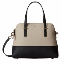 Kate Spade PXRU4471-028 Women's Cedar Street Maise Clock Tower/Black Leather Shoulder Bag