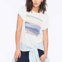 Rip Curl Perfect Wave Womens Tee White  In Sizes
