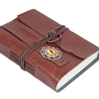 Light Brown Faux Leather Journal