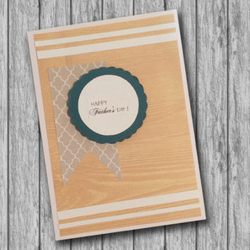 Handmade All Occasion Greeting Card, Happy Father's Day, Happy Birthday, Thank you, Congratulations, I love you, Thanks, Happy Anniversary