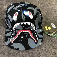 BAPE Woman Men Sunhat Embroidery Sport Baseball Hat Cap
