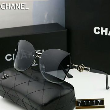 Chanel Trending Women Men Stylish Sunglasses Sun Shades Eyeglasses Glasses #5 I-A-SDYJ