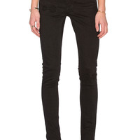 Cheap Monday Second Skin Skinny in Freedom Black