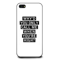 Personalised AM song lyrics iPhone 5 | 5s Case