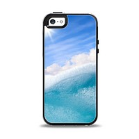 The Sunny Day Waves Apple iPhone 5-5s Otterbox Symmetry Case Skin Set