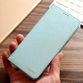 For iPhone 8 Plus Cases Silk Pattern PU Leather Flip Cover for iPhone 7 Plus Case with TPU Back Stand Coque for iPhone 6 6S Plus
