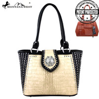 Montana West MW263G-8317 Concho Concealed Carry Handbag