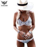 #NAKIAEOI 2017 #Sexy Bikinis Women Swimsuit Push Up Swimwear Female Brazilian Bikini set Bandeau Summer Beach Bathing Suit Biquini