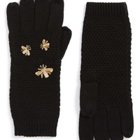 BCBGMAXAZRIA The Bees Knees Embellished Gloves | Nordstrom