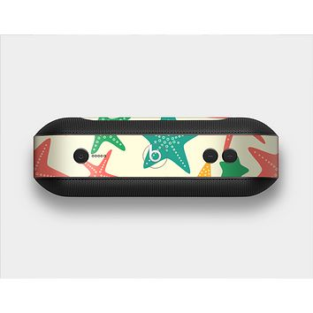 The Tan And Colorful Vector StarFish Skin Set for the Beats Pill Plus