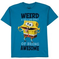 SpongeBob SquarePants Weird is Awesome Tee - Boys 8-20, Size: