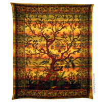 Tree of Life Sunset Tapestry on Sale for $24.95 at HippieShop.com