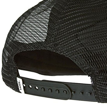 Vans Off The Wall Women's Beach Girl Trucker Hat Cap - Black Galaxy
