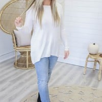 Worth It All Sweater - Ivory