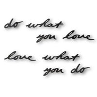 Umbra Mantra Wall Decor Phrase, Do What You Love