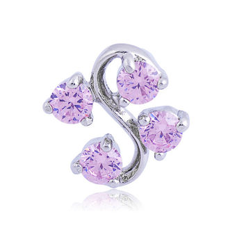 New Charming Dangle Crystal Navel Belly Ring Bling Barbell Button Ring Piercing Body Jewelry = 4804884740
