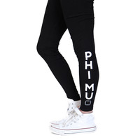 Phi Mu Kick It Leggings
