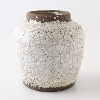 Ivory Epoch Pot, Small - Anthropologie.com