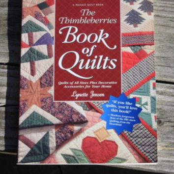 The Thimbleberries Book Of Quilts Lynette Jansen Sewing Pattern