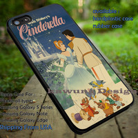 Cinderella Vintage Movie Poster iPhone 6s 6 6s+ 5c 5s Cases Samsung Galaxy s5 s6 Edge+ NOTE 5 4 3 #cartoon #animated #disney #Cinderella dt