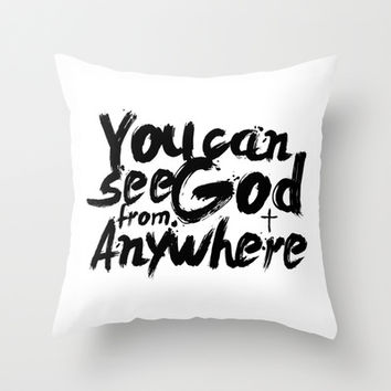 Christian V.1 Throw Pillow by Maioriz Home