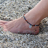Foot Jewelry, Ankle bracelet, Beach anklet, Hippie Jewels, Summer