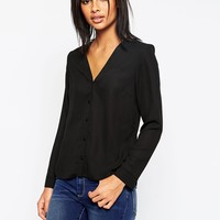 ASOS V Neck Blouse at asos.com