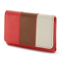 Croft & Barrow Nancy Indexer Wallet (Blue)