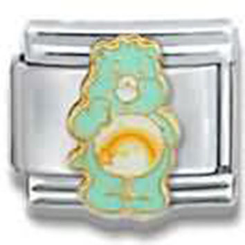 CARE BEARS Wish Bear Officially Licensed Italian Charm
