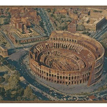 The Coliseum Rome Italian Tapestry