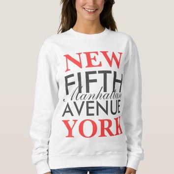 Fifth Avenue New York Sweatshirt