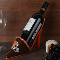 Cleveland Browns High Heel Shoe Bottle Holder - Brown