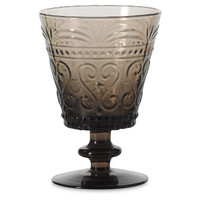 Provenzale Water Goblet, Gray, Tumblers, Water & Juice