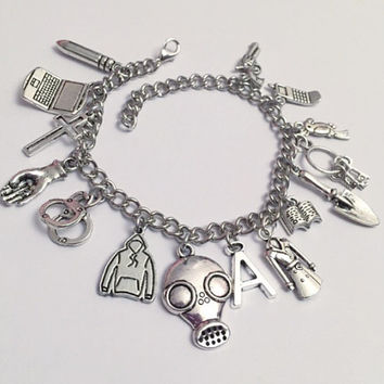Pretty Little Liars Ultimate Charm Bracelet - Pretty Little Liars Jewelry - PLL Inspired Jewelry - Fandom Jewelry